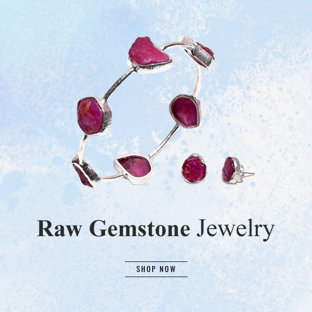 Raw Gemstone Jewelry