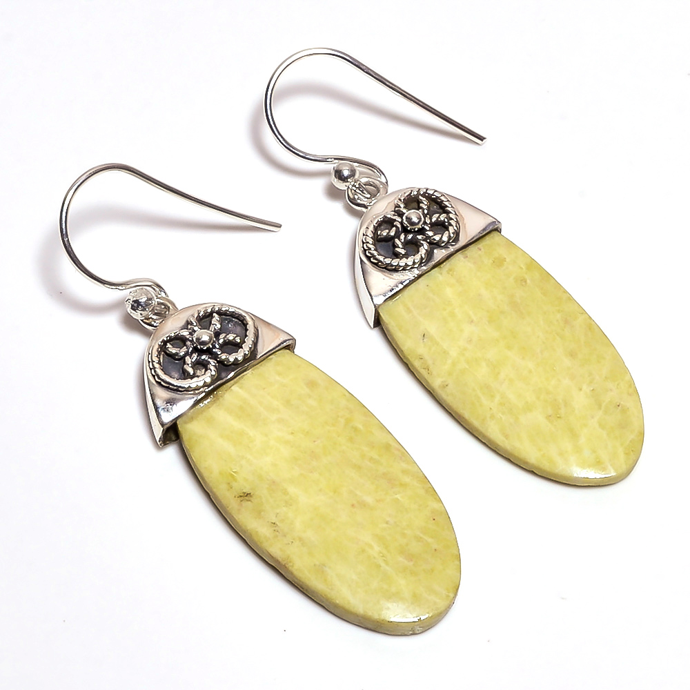Zamora Gemstone 925 Sterling Silver Earrings