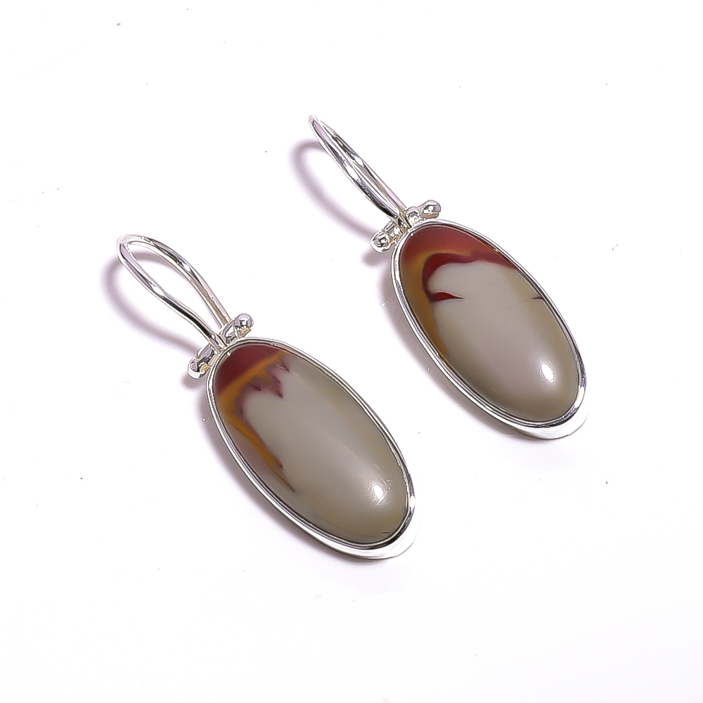 Noreena Jasper Gemstone 925 Sterling Silver Earrings