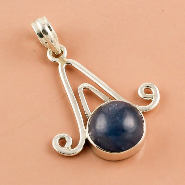 Tanzanite Gemstone 925 Sterling Silver Pendant
