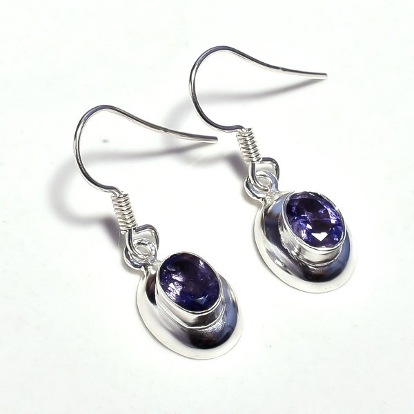 Tanzanite Gemstone 925 Sterling Silver Earrings