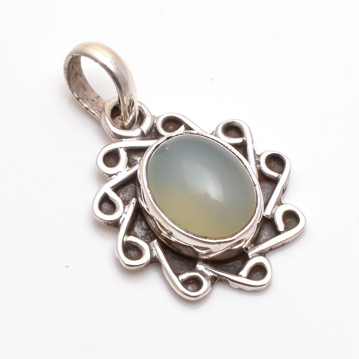 Moonstone 925 Sterling Silver Pendant